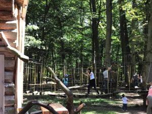 Kinderparcours Kletterwald Schweinfurt