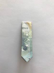Geldschein Krawatte