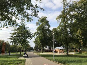 Landesgartenschaugelände Kitzingen - Spielplatz im Park
