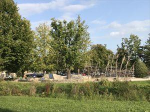 Landesgartenschaugelände Kitzingen - Spielplatz am Parkplatz