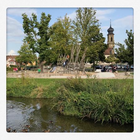Spielplatz Gartenschaugelände Kitzingen