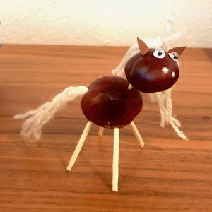 Kastanien-Pferd