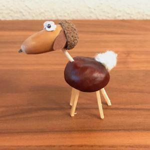 Kastanien-Schaf