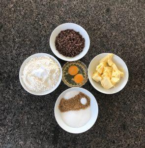 Schoko Cookies - Zutaten