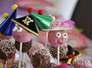 Cake Pops - Gesichter