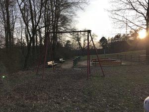 Spielplatz Frankenwarte - Kleinkindschaukel