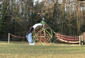 Spielplatz Frankenwarte - Klettergerüst