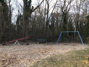 Spielplatz Frankenwarte - Wippe und Schaukel