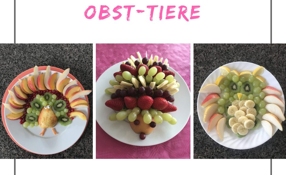 Obst-Tiere