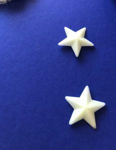 Sternenhimmel - Sterne anbringen