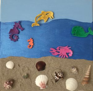 Sandbilder - Meer
