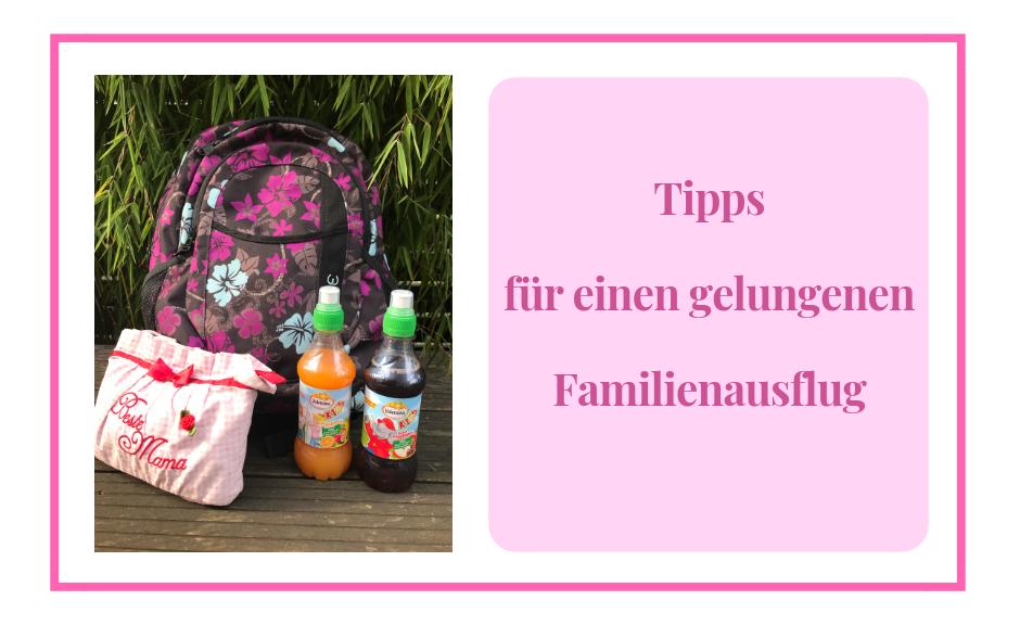 Tipps für einen gelungenen Familienausflug