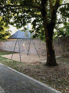 Spielplatz Frickenhausen - große Schaukeln