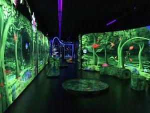 Schwarzlichtfabrik - 3D Minigolf 2