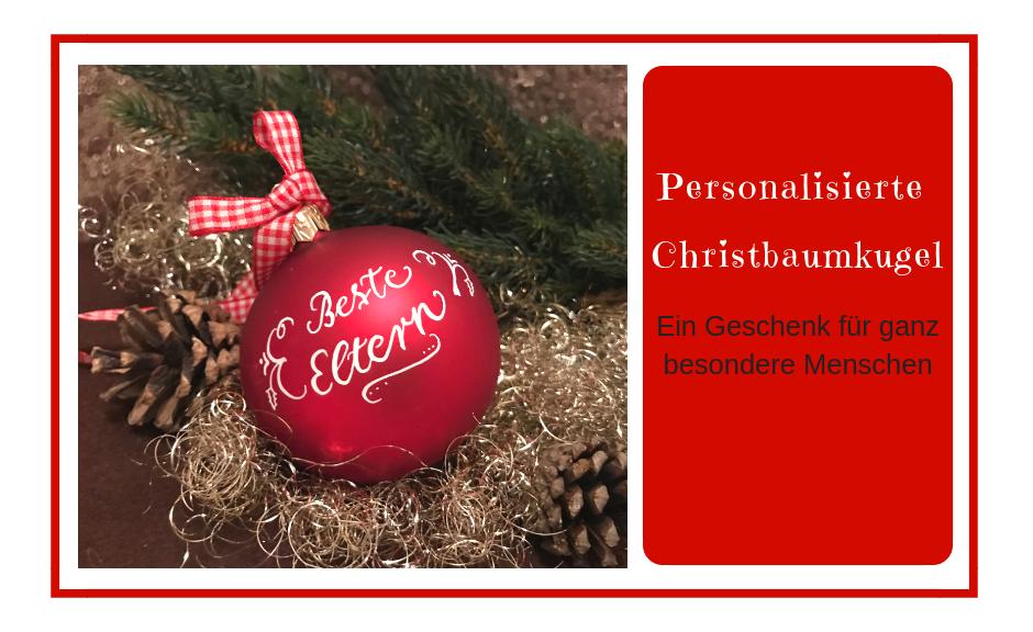 Christbaumkugeln Besondere.Ein Weihnachtsgeschenk Für Ganz Besondere Menschen Milch Wein