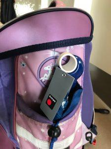 Schultasche - Seitenfach