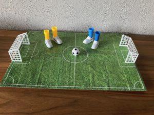 Fingerfußball Set Spielfeld